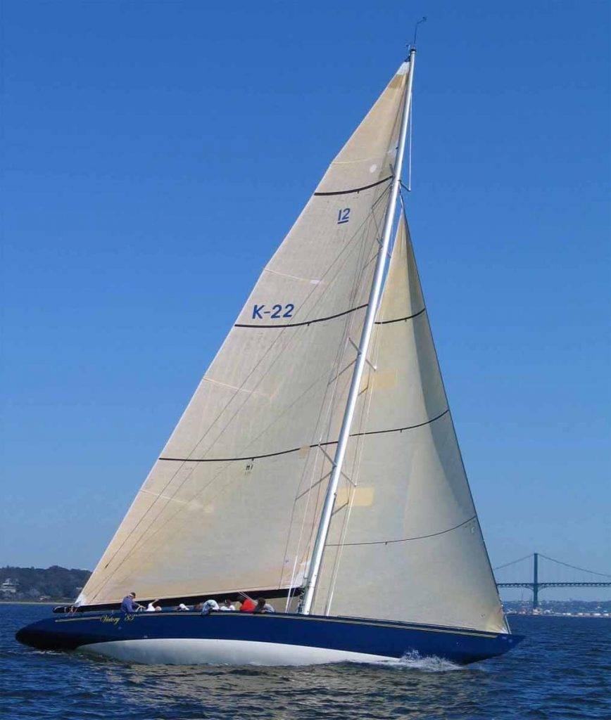 America's Cup Yacht - Ferralium 255 SD50